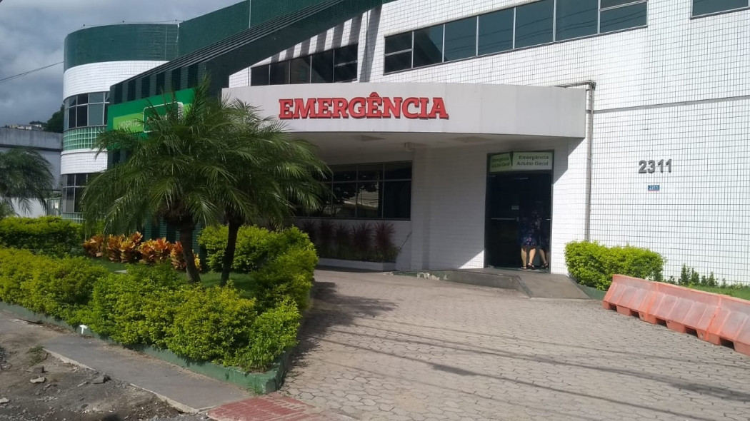 Matheus está internado no Cias, em Vitória. Crédito: Eduardo Dias