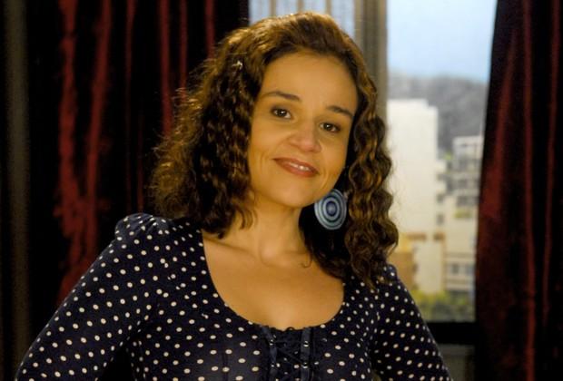 Claudia Rodrigues como Marinete, de A Diarista, seriado que ficou no ar entre 2004 e 2007. Crédito: Divulgação