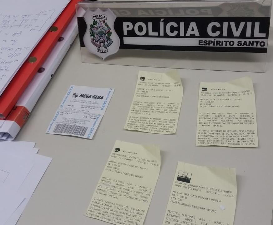 Polícia prende quadrilha especializada no golpe do bilhete premiado. Crédito: Isaac Ribeiro