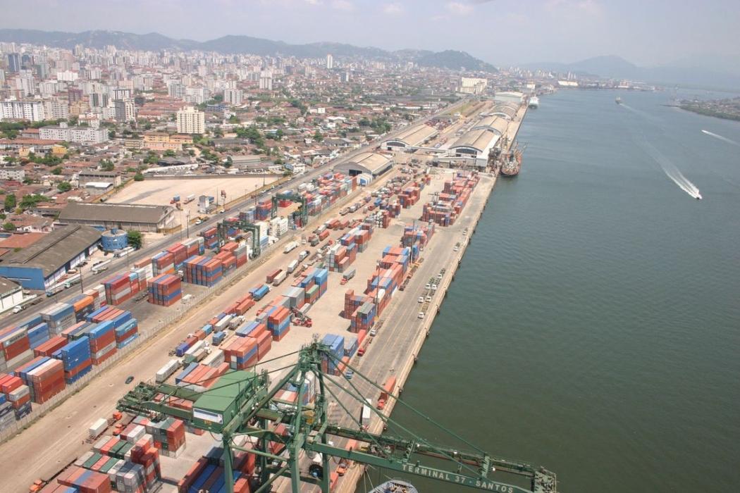 Exportação no Brasil. Crédito: Divulgação/ Portal Governo Brasil
