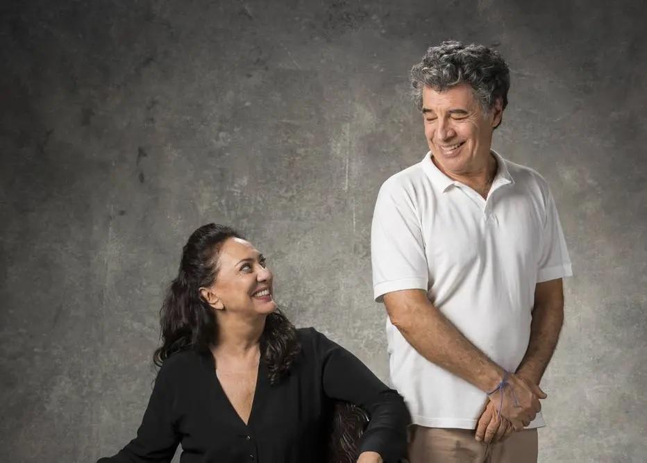02/04/2019 - Órfãos da Terra: Parceria. Eliane vai dividir cena com Paulo Betti, com quem foi casada. Crédito: VICTOR POLLAK/GLOBO