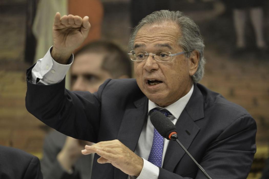 O ministro da Economia Paulo Guedes. Crédito: Fabio Rodrigues Pozzebom/Agência Brasil