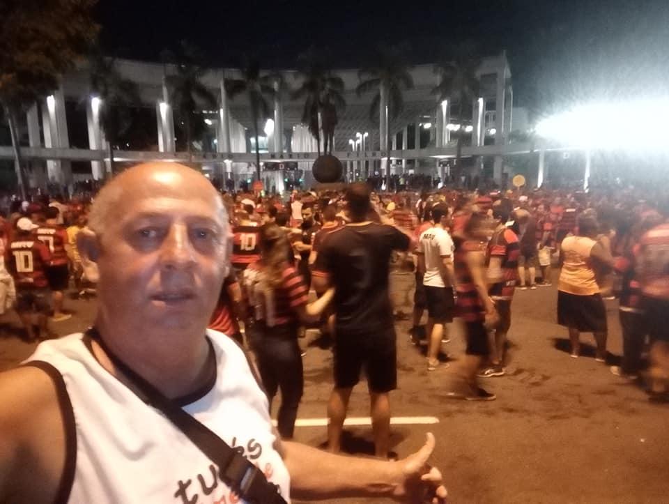 O capixaba Roberto Vieira de Almeida foi espancado por torcedores do Peñarol. Crédito: Reprodução/Facebook