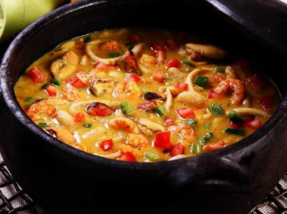 Degusta Mares: Cassoulet de Frutos do Mar. Crédito: Degusta Mares/Carlos Crespo