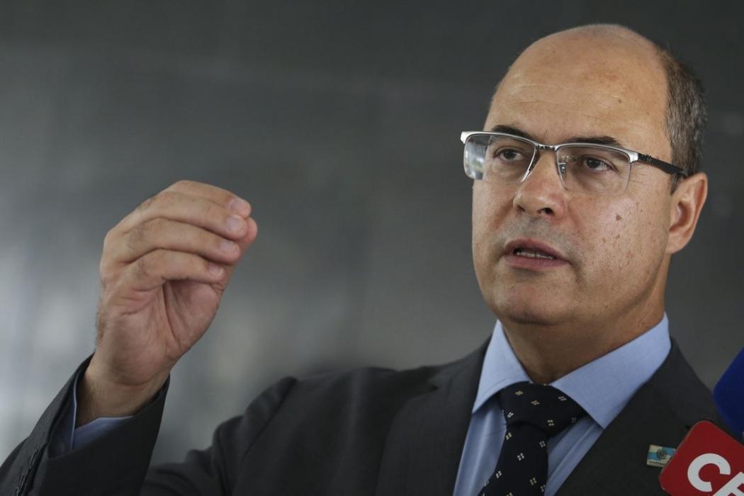O governador do Rio de Janeiro, Wilson Witzel. Crédito: Antonio Cruz/Agência Brasil   Arquivo