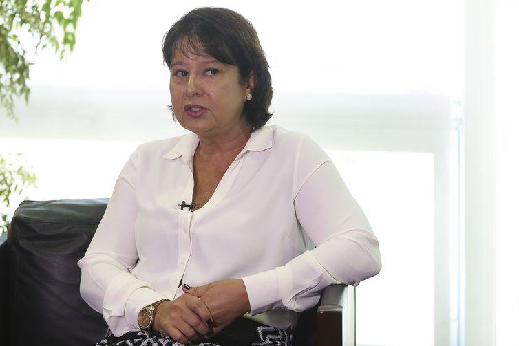 A secretária especial de Modernização do Estado, Marcia Amorim. Crédito: José Cruz/Agência Brasil