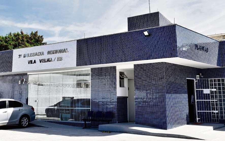 Ocorrência foi registrada na Delegacia Regional de Vila Velha. Crédito: Fernando Madeira