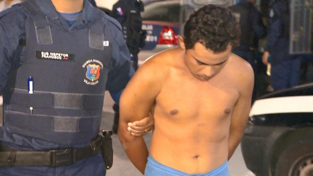 Suspeito de molestar cunhadas em Vila Velha. Crédito: Manoel Neto/ TV Gazeta