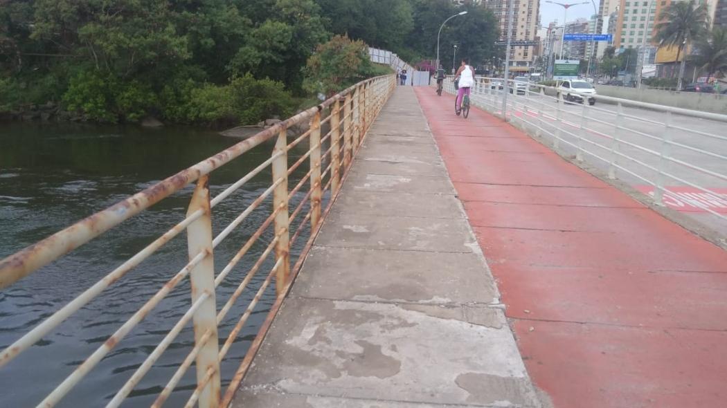 Ponte de Camburi vai passar por reformas . Crédito: Caíque Verli