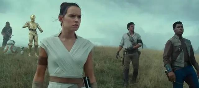 12/04/2019 - Cena de 'Star Wars IX: The Rise of Skywalker'. Crédito: YouTube / @Star Wars