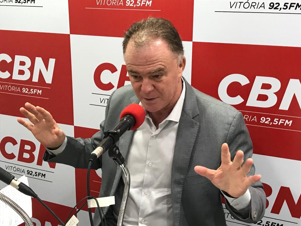 Governador do Espirito Santo, Renato Casagrande . Crédito: Pedro Cunha