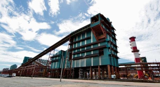 Planta industrial da Samarco, em Ubu