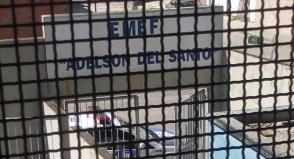 Viatura da Polícia Militar esteve na escola de Linhares após irmão de aluna ameaçar professora