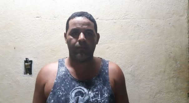Fagner Fernandes Pinto foi preso em flagrante acusado de feminicídio