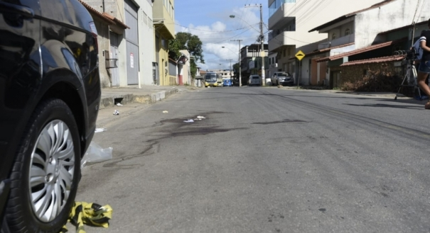 Rua Glauber Rocha. Onde policial reagiu ao assalto