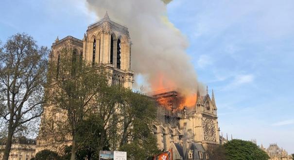 Incêndio na Catedral Notre-Dame