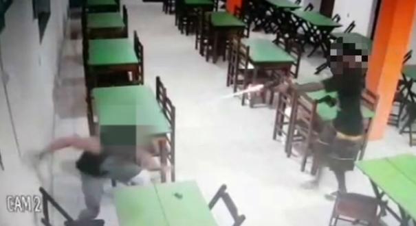 Criminoso atira em PM em Guarapari