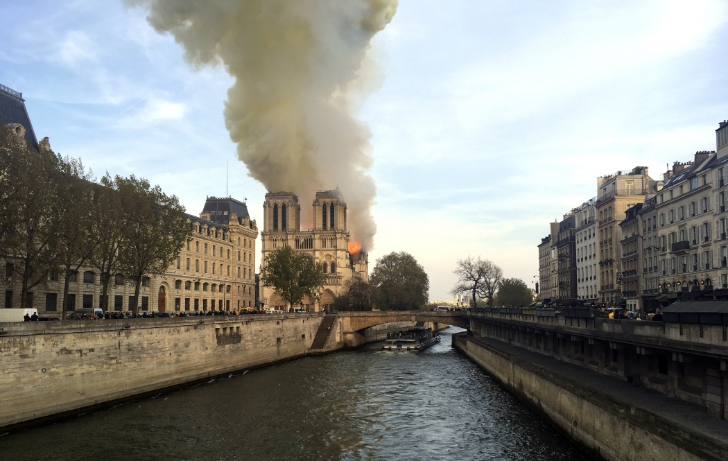 Incêndio na Catedral de Notre Dame