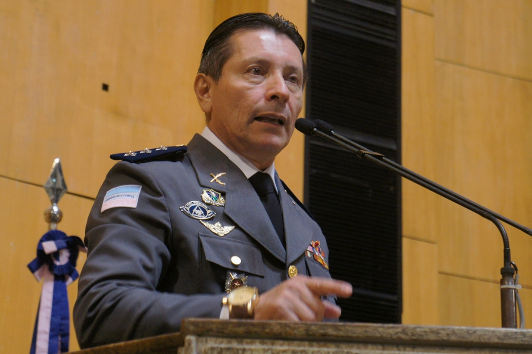 Capitão Assumção disse que pagaria R$ 10 mil para quem matar o assassino de jovem em Cariacica. Crédito: Lissa de Paula/Ales