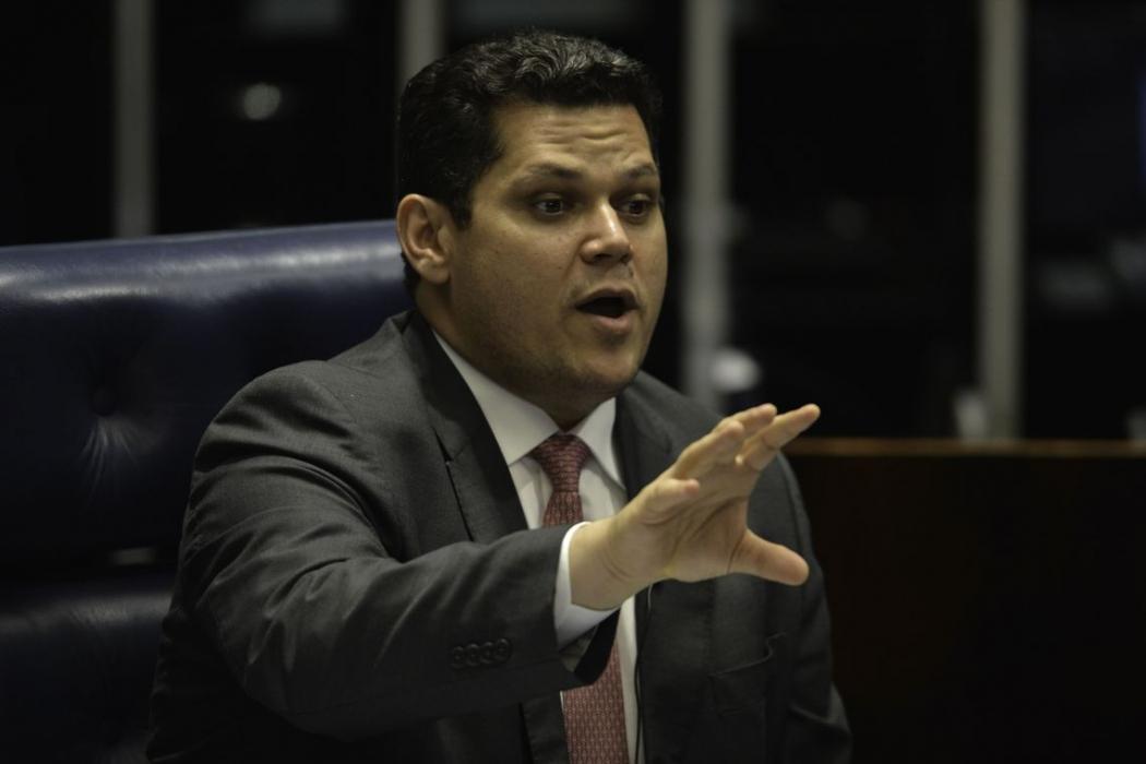 O presidente do Senado, Davi Alcolumbre (DEM-AP). Crédito: Fabio Rodrigues Pozzebom/Agência Brasil | Arquivo
