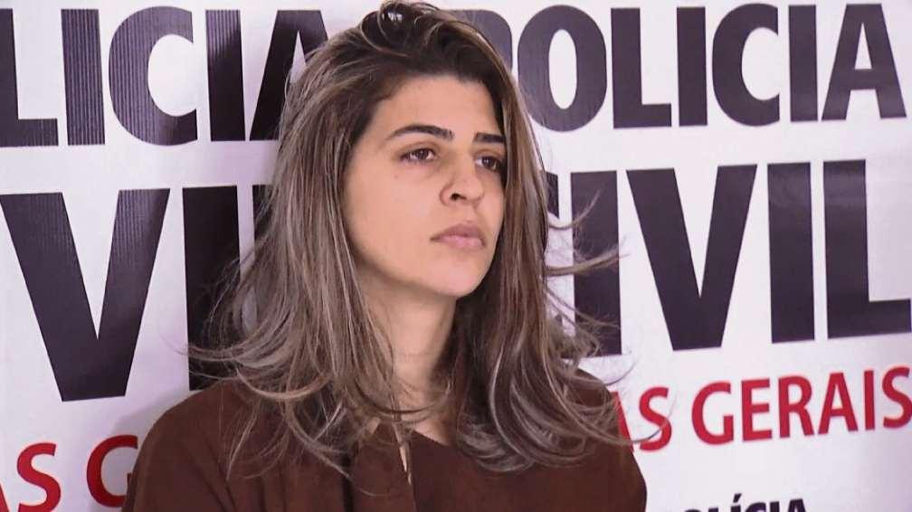 A pastora Juliana Pereira Sales Alves, 27 anos, quando chegou a ser presa em Minas Gerais. Crédito: Umberto Lemos   InterTV   Arquivo