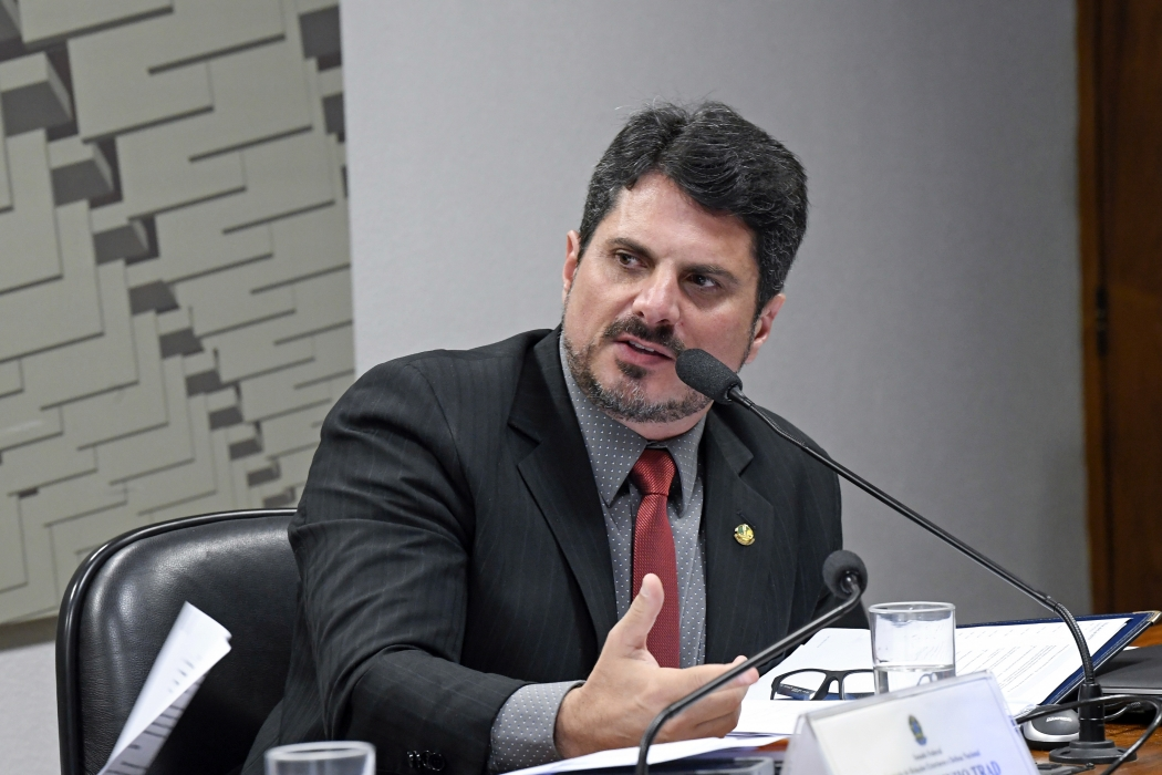 Senador Marcos do Val   . Crédito: Roque de Sá/Agência Sendo