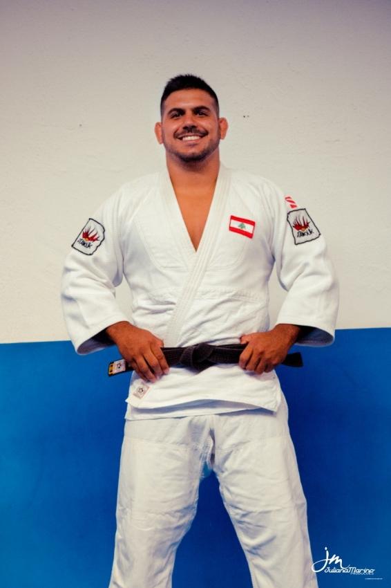 O judoca capixaba Nacif Elias. Crédito: Divulgação