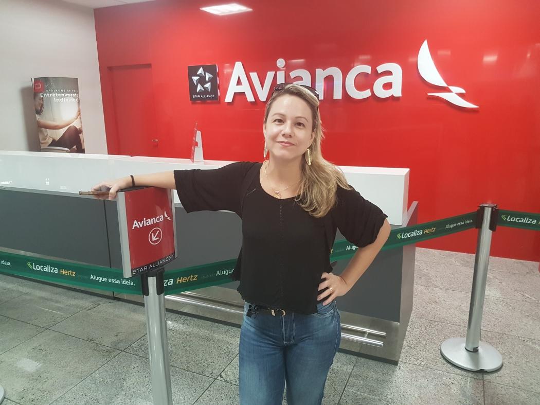 Gláucia Ribeiro teve o voo, previsto para esta semana, cancelado. Crédito: José Carlos Schaeffer