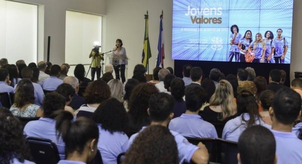 Lançamento do Programa Jovens Valores