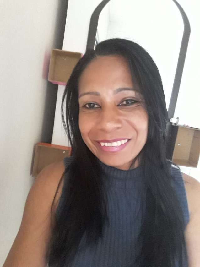 A diarista Maria Aparecida Viana de Souza, de 44 anos, foi morta pelo namorado