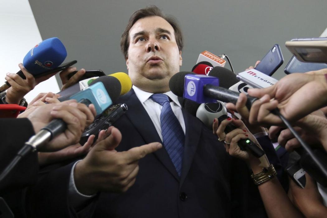 Rodrigo Maia, presidente da Câmara dos Deputados. Crédito: Agência Brasil