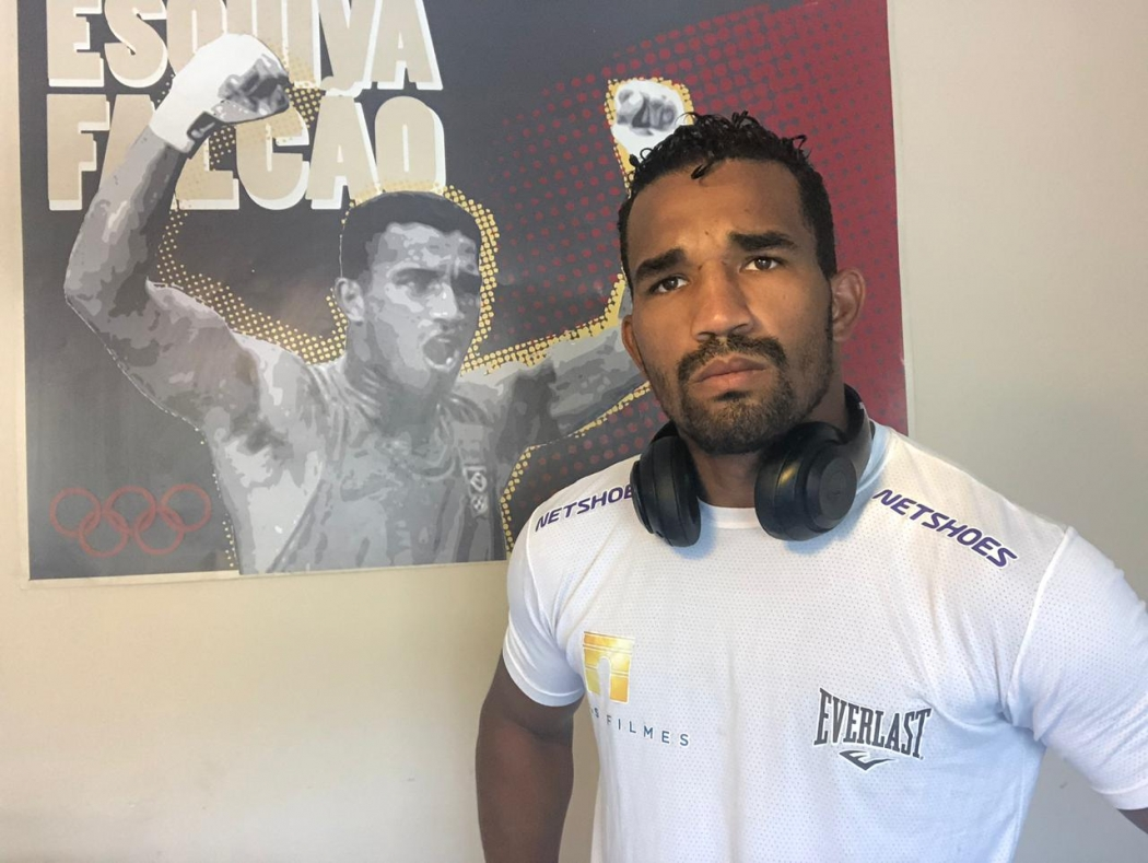 O lutador capixaba Esquiva Falcão. Crédito: Divulgação
