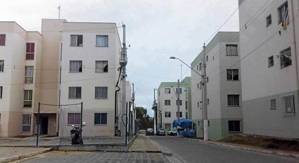 Condomínio Ourimar:  segundo a polícia, acusado retirou 8 famílias dos apartamentos