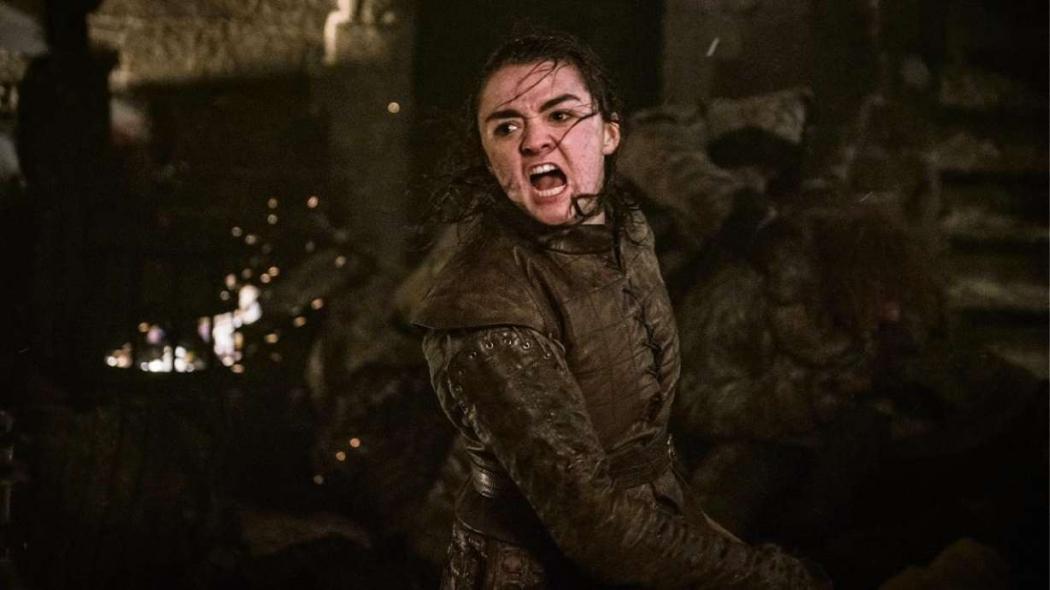 """Arya em """"Game of Thrones"""". Crédito: HBO/Divulgação"""