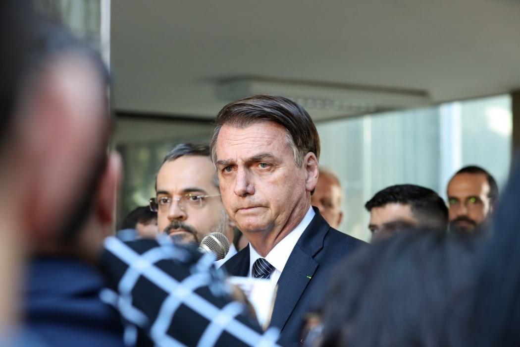 Presidente Jair Bolsonaro. Crédito: Marcos Corrêa/PR|Arquivo
