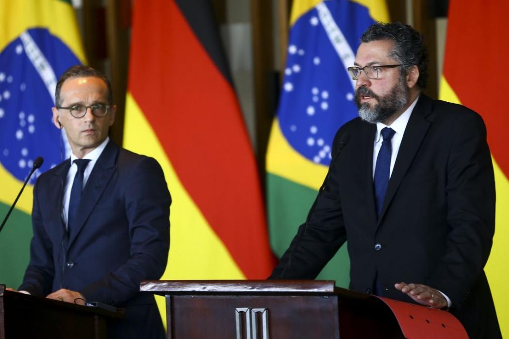 Araújo diz que parceria com a Alemanha é fundamental. Crédito: Marcelo Camargo/Agência Brasil