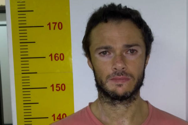 Rodrigo foi preso em SP. Crédito: Polícia Civil de SP | Divulgação