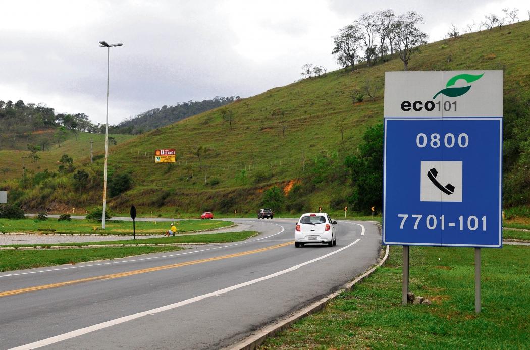 Trecho de Viana, que faz parte da BR 101 Sul. Crédito: Fernando Madeira