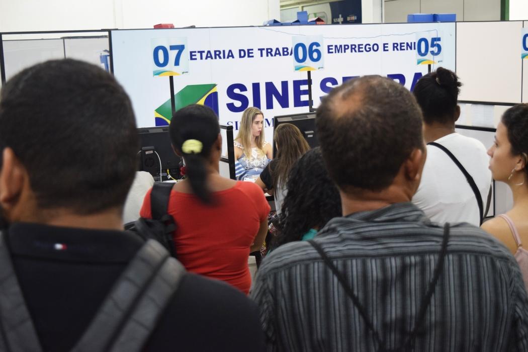 Sine da Serra começa a semana com 299 vagas de emprego. Crédito: João Paulo Rocetti