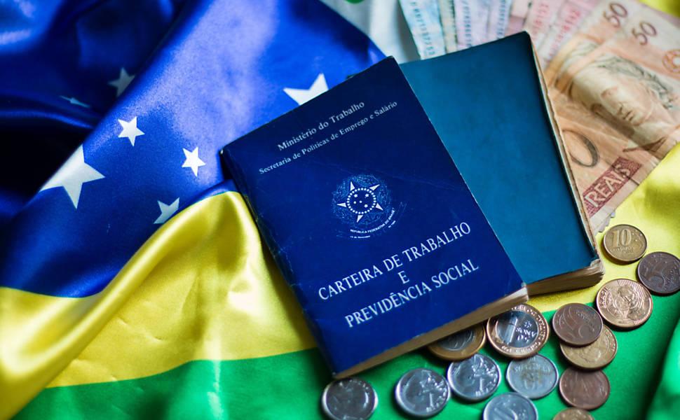 Desemprego no Brasil. Crédito: Reprodução/Folha de S. Paulo