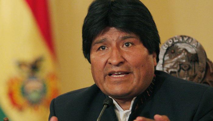 Evo Morales. Crédito: Divulgação