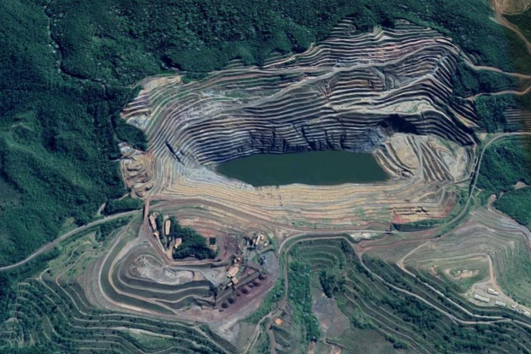 O Ministério Público de Minas Gerais quer que Vale indenize os atingidos em Barão de Cocais. Crédito: Imagem Google Maps