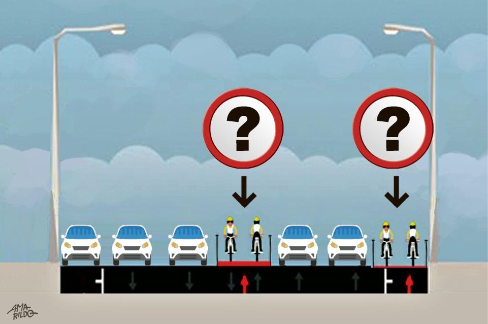 Ciclovia: fim de estacionamento é a solução para a Av. Rio Branco?. Crédito: Amarildo