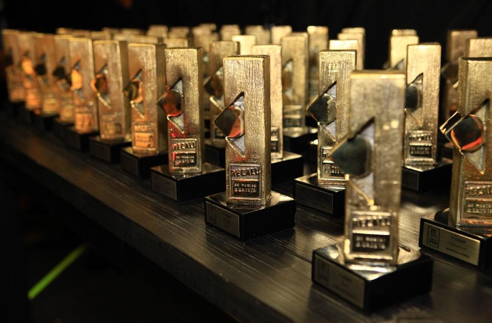 Marcas mais lembradas pelo público e que atuam no ES recebem troféus. Crédito: Guilherme Ferrari/arquivo