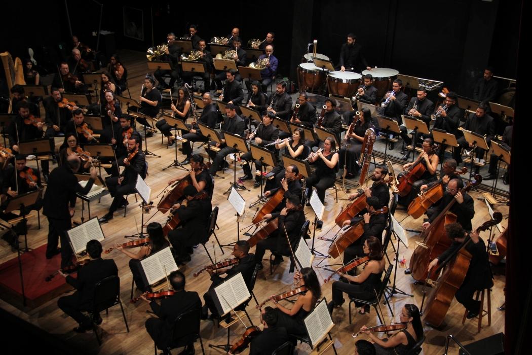 Orquestra Sinfônica do Espírito Santo. Crédito: Marcelo Siqueira