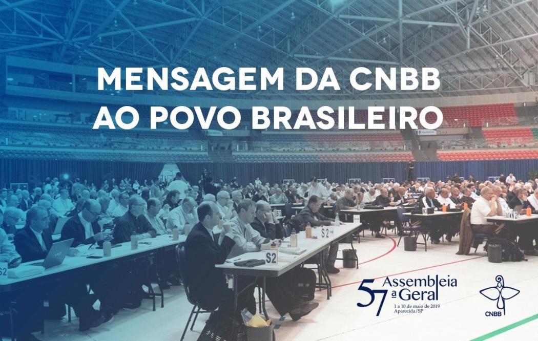 Mensagem dos bispos da CNBB. Crédito: Divulgação/CNBB