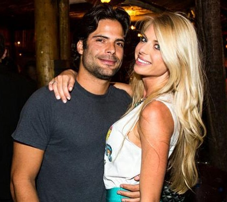 O empresário Jorge Sestini e a modelo Caroline Bittencourt. Crédito: Reprodução/Instagram