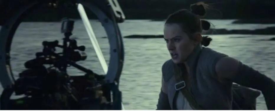 Cena do filme Os Últimos Jedi (2017), dirigido por Rian Johnson. Crédito: Disney/Divulgação