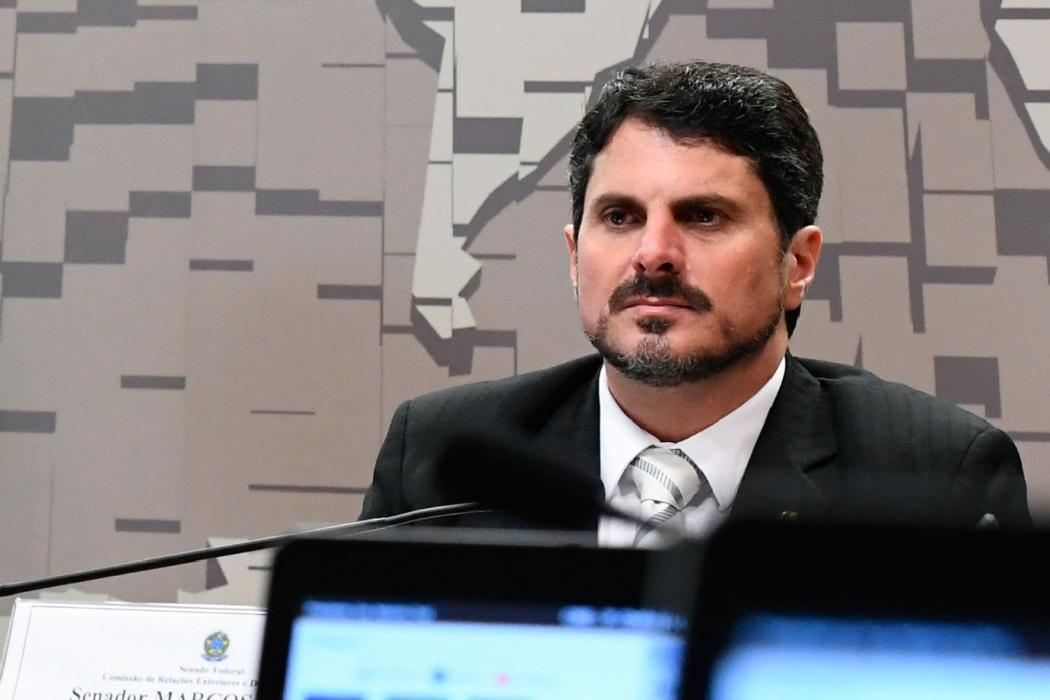 O senador Marcos do Val. Crédito: Agência Senado