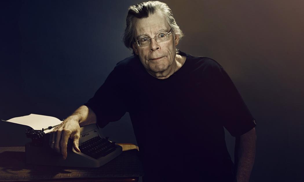 Stephen King: autor americano que já vendeu mais de 400 milhões de livros. Crédito: Steve Schofield/Divulgação